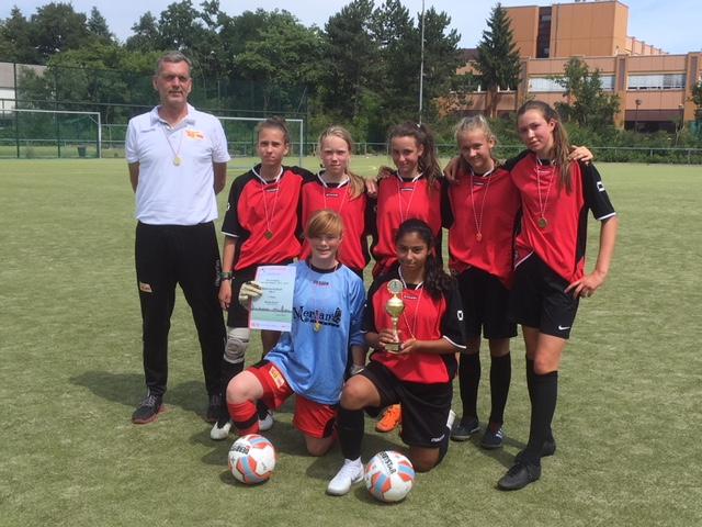 Fussball Berliner Schulmeister 2018 Madchen Merian Schule
